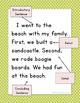 Narrative Writing Template (First Grade)