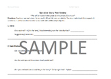 Narrative Story Peer Review Worksheet