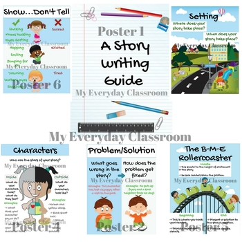 Story Planner & Poster Set