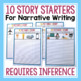 STORY STARTERS: 4 PICTURES 1 STORY