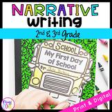 Narrative Story Writing Interactive Journal W.2.3 & W.3.3