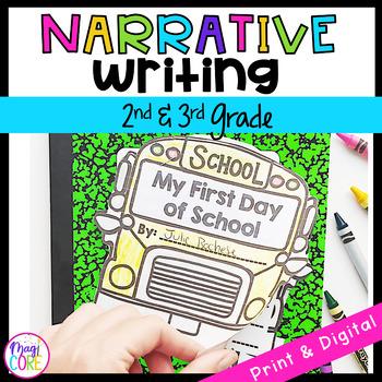 Narrative Story Writing Interactive Journal W.2.3 W.3.3