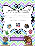 Narrative Story Writing Template