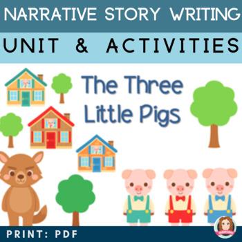 Narrative Story Writing Unit {Common Core Aligned / Gradua