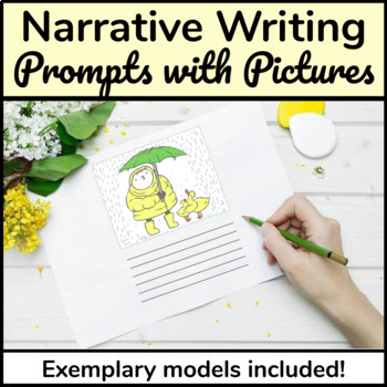 Narrative Story Writing from Pictures (3 Templates with Examples)