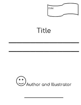 Narrative Storytelling Blank Pages for a Book