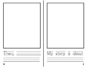 Free Narrative Student Writing Book