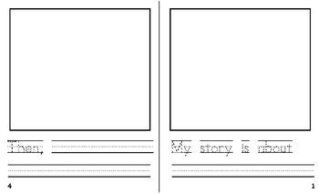 Free Narrative Student Writing Book - Bigger Size