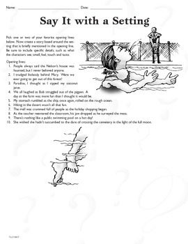 Narrative Techniques (CCSS W.8.3b)