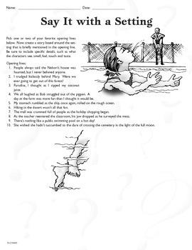 Narrative Techniques (CCSS W.6.3b)