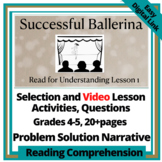 Narrative Test Selection and Actvities: Successful Ballerina