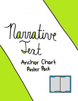 Narrative Text Anchor Chart Poster Pack