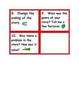 Narrative Text Reading Response Task Cards