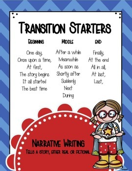 Narrative Transitions Poster