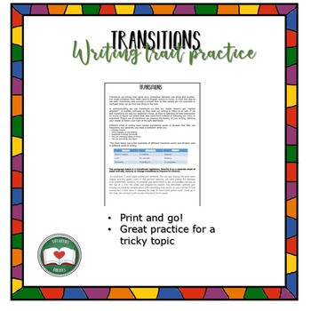Narrative Transitions Practice