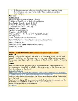 Narrative Unit 1.7 Analyzing Text