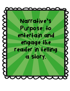 Narrative Unit Writing Pack