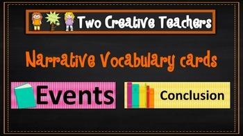 Narrative Vocabulary Word Wall