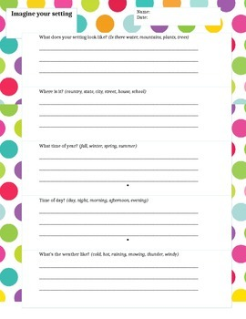 Narrative Worksheets