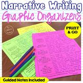 Common Core Narrative Writing Graphic Organizers