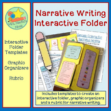 Narrative Writing - Graphic Organizer, Prompts and Rubric