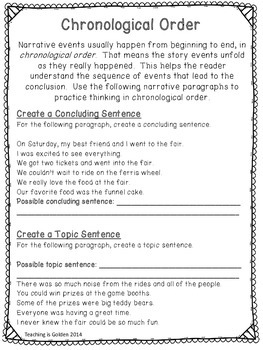 Narrative Writing Complete Detailed Unit