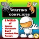 Narrative Writing Unit - Writing Prompts, Descriptive Writing, Writing Conflicts