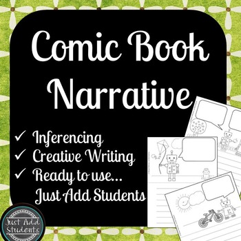 Create a Comic Book {Narrative Writing and Inference}