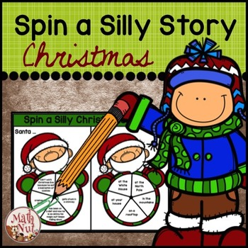 Christmas Writing | Spin a Silly Story