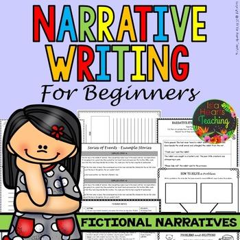 Fictional Narrative Writing Unit (Creative Writing)