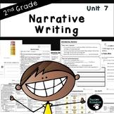 Second Grade Narrative Writing Unit (EDITABLE!, Standards Aligned)