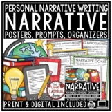 Personal Narrative Writing Unit - Narrative Writing Prompt