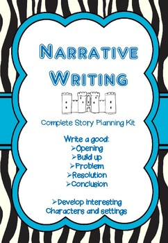 Narrative Writing (A Complete Story Planning Kit)