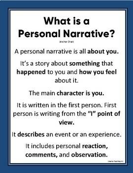 a personal narrative