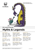 Narrative Writing Activity: 100 vocabulary words about Myths & Legends