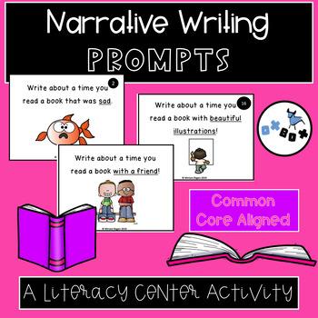 Narrative Writing Activity: An ELA Center or Game