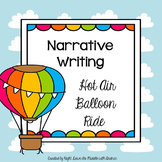 Narrative Writing Activity: Hot Air Balloon Ride