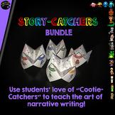 "Cootie Catcher Narrative Writing: ""Story-Catchers"" **BUNDLE**"