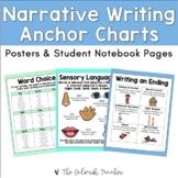 Narrative Writing Anchor Charts (Narrative Posters & Stude