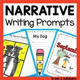 Back to School Narrative Journals, Prompts, Checklist, Rub
