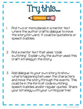 Narrative Writing - Author's Craft Task Cards