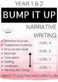 Narrative Writing BUMP IT UP YEARS 1-2
