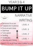 Narrative Writing BUMP IT UP YEARS 3-4