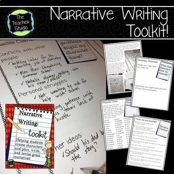 Narrative Writing BUNDLE Helping Students Write Quality Narratives  Grades 3-5