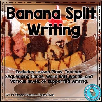 Banana Split Writing Prompt