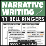 Narrative Writing Bell Ringers and Minilessons for the Entire Writing Process