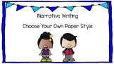 Narrative Writing Book