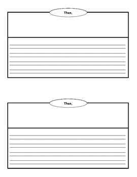 Narrative writing book half page template graphic organizer by narrative writing book half page template graphic organizer pronofoot35fo Gallery