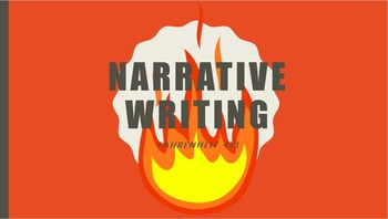 Narrative Writing in Fahrenheit 451 Bundle Product