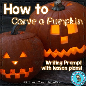 Narrative Writing Carving a Pumpkin with Sequencing Cards